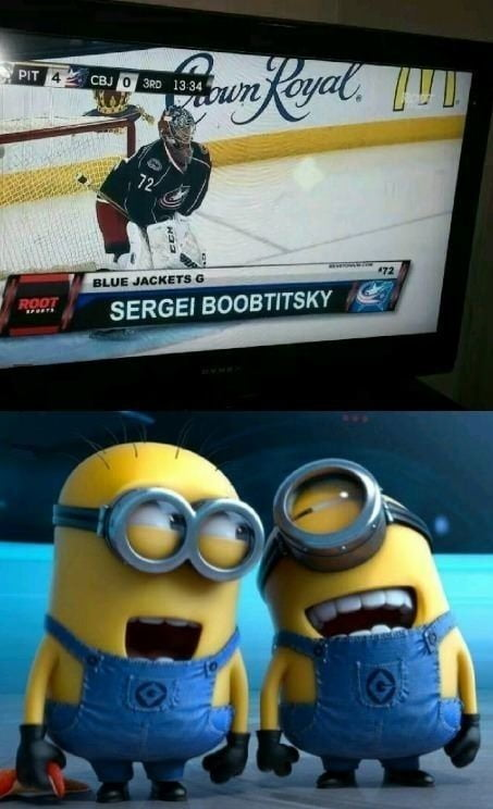 Sergei boobtitsky<br />   I like this man..