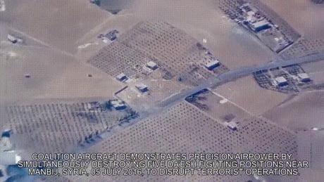 Precision aerial bombing