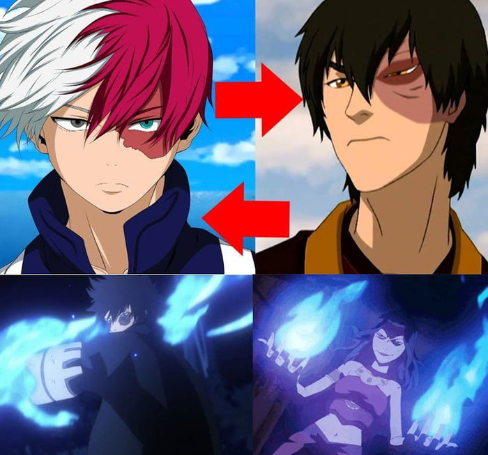 Also has an evil sibling with blue fire.