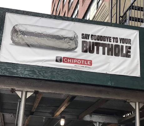 Chipotle's new slogan 1