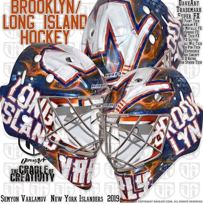 Varlamov's New Mask