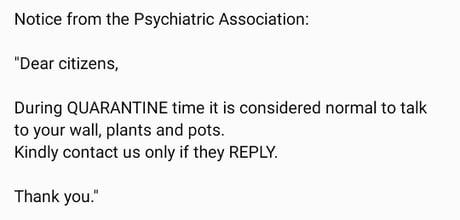 Psychiatric advice