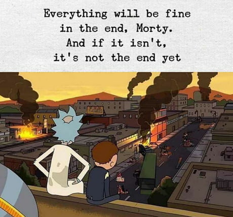 Everything will be fine..