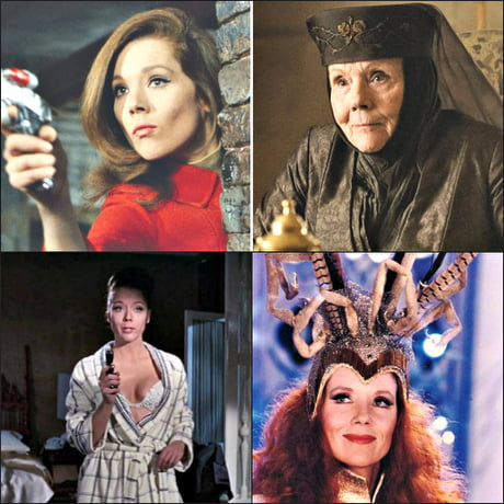 The queen is dead, long live the queen! Diana Rigg (20 July 1938 – 10 September 2020) R.I.P.