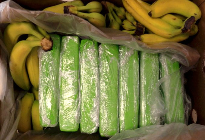 160 KG of cocaine hidden in banana boxes, was accidentally shipped to one of the biggest grocery retailers in Poland