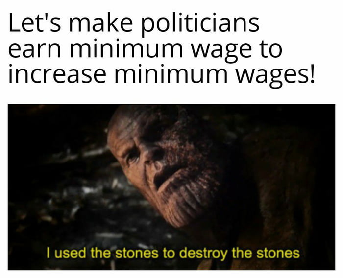 It's our money anyway!