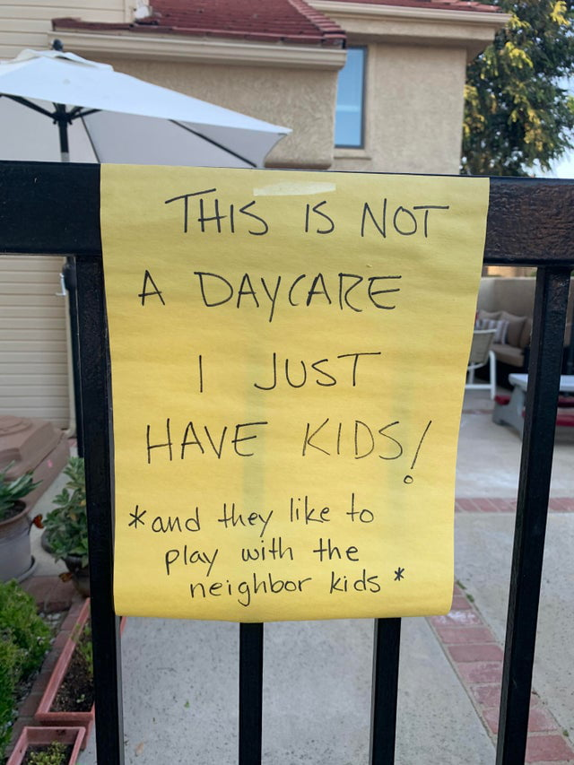 Kids Are Having Fun With Friends So A Neighbor Reported To Hoa That They Must Be Running A Childcare.