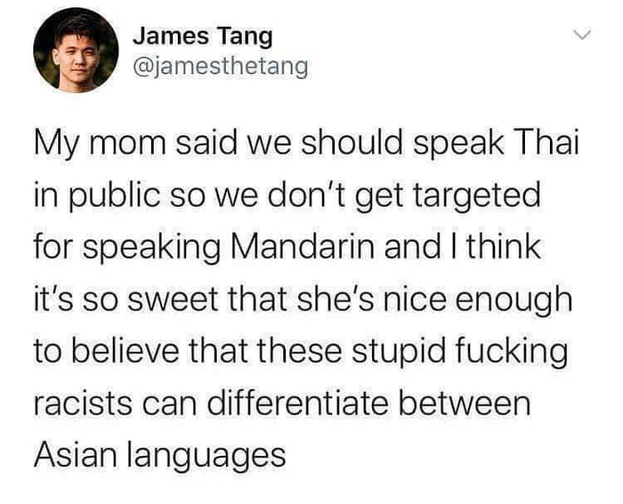 What's their problem with asian people?