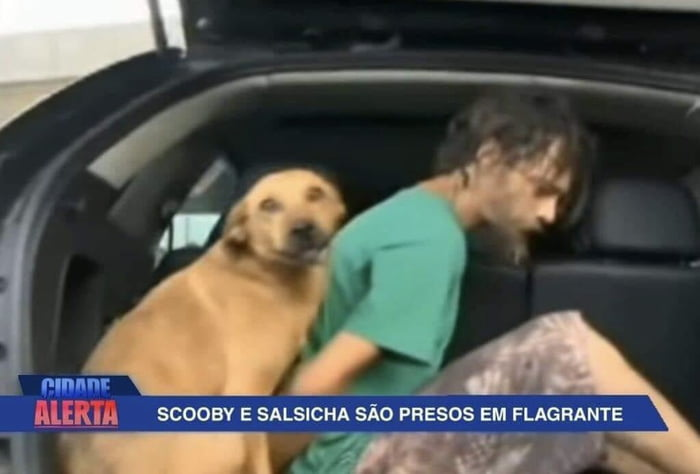 Scooby and Shaggy are arrested in Brazil