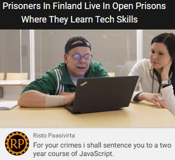 Finland's prisons are tough