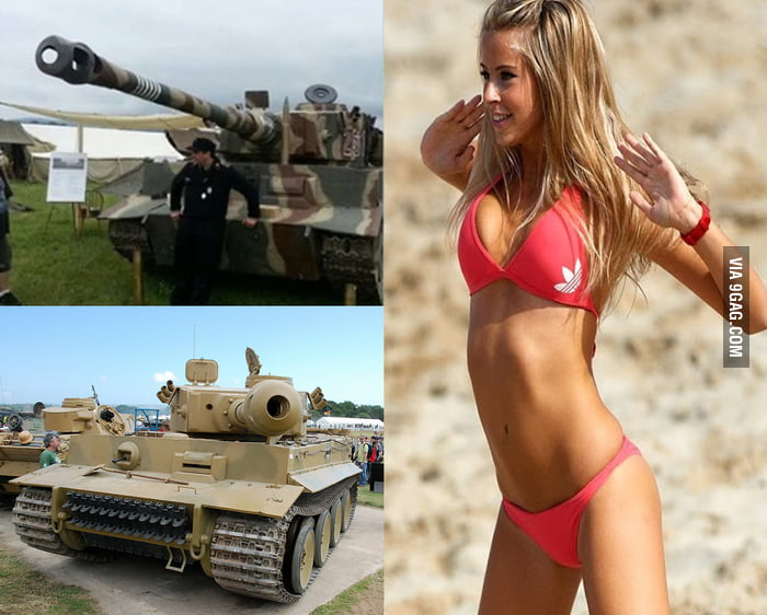Would you rather be able to have sex with this girl anytime you want or have a fully functional tiger I tank (you are allowed to shoot)