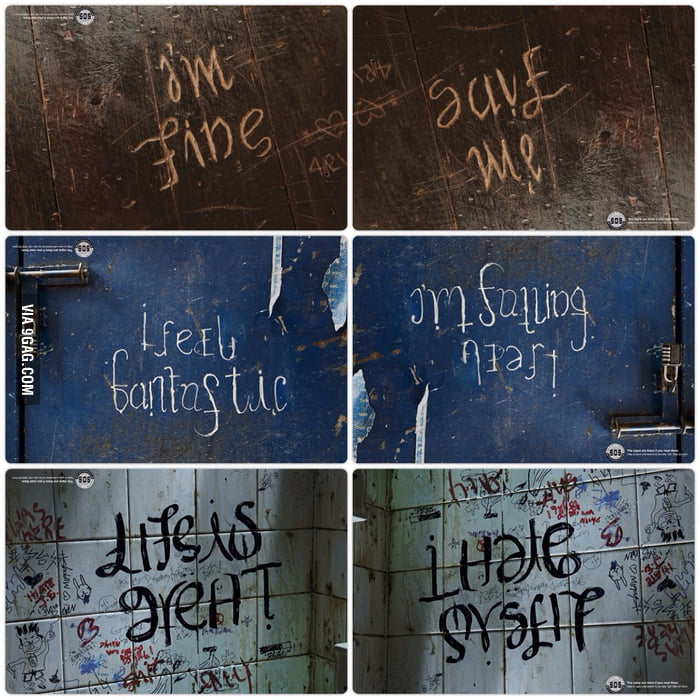 Upside Down Picture Quotes: I'm Fine / Save Me : Im14andthisisdeep