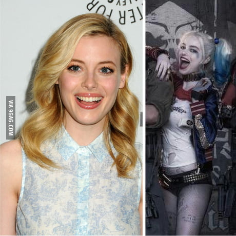 I can't be the only one who thinks Margot Robbie as Harley Quinn looks like Gillian  Jacobs (Britta) or vice versa. - 9GAG