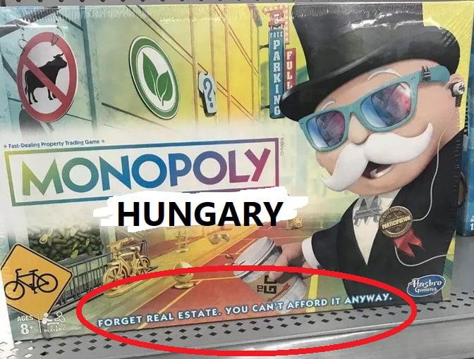 Monopoly Hungary