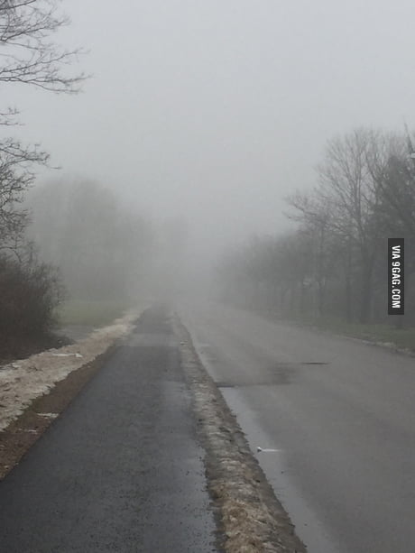 My Town Looks Like Silent Hill 9gag