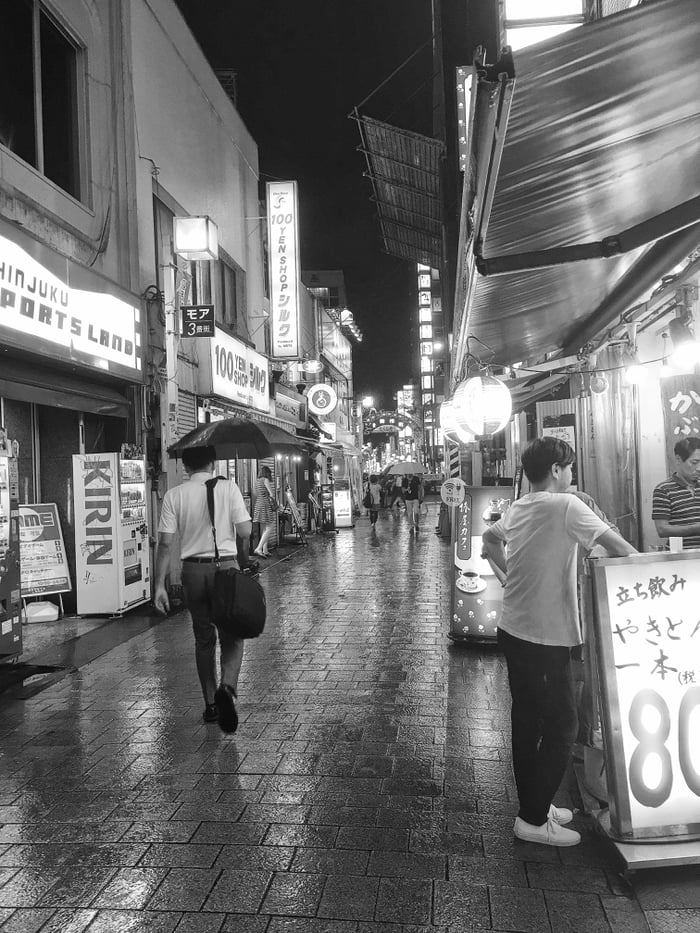 A night out in Tokyo.