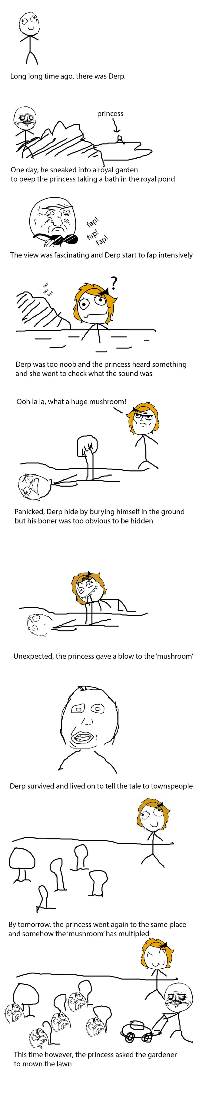 The Tale of Lucky Derp