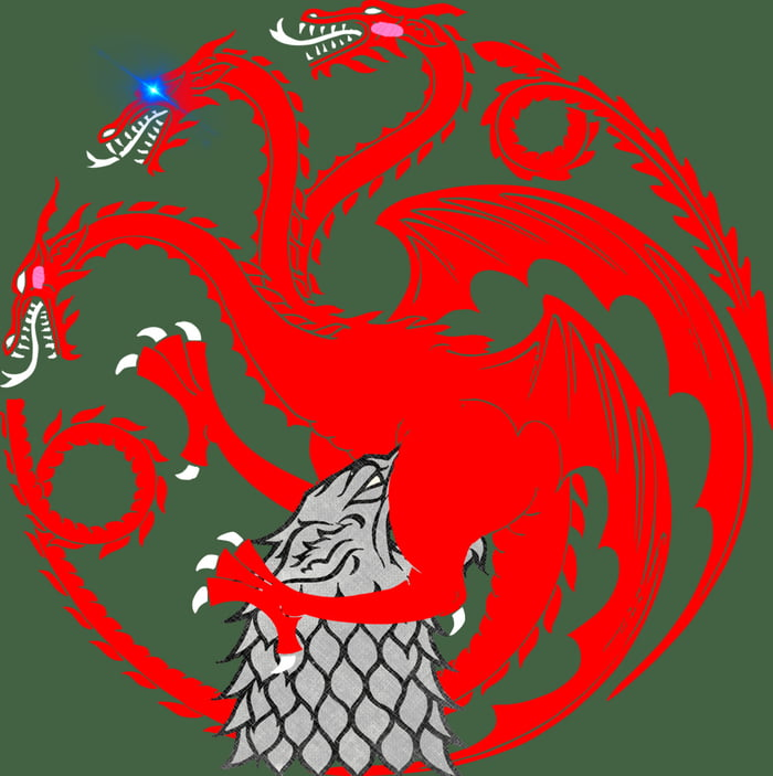 A more accurate House Targaryen sigil!