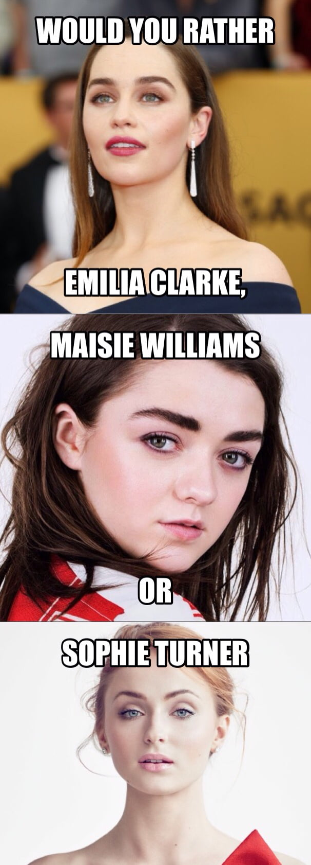 Who would you rather of the GOT main women