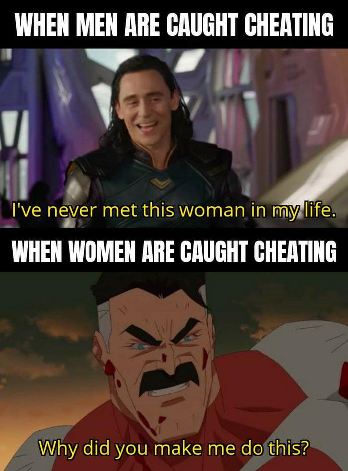 Cheating?...Where?
