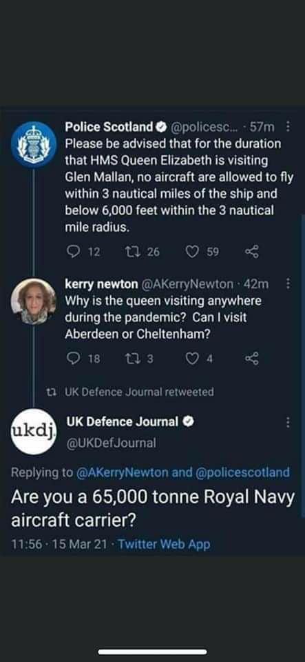 UK Defense Journal has no chill