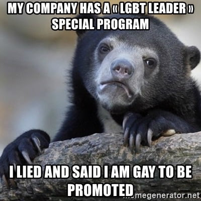 They say LGBT people are underrepresented in the management