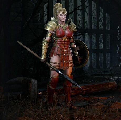 The Male Amazon In Diablo Ii Resurrected Looks Nice 9gag