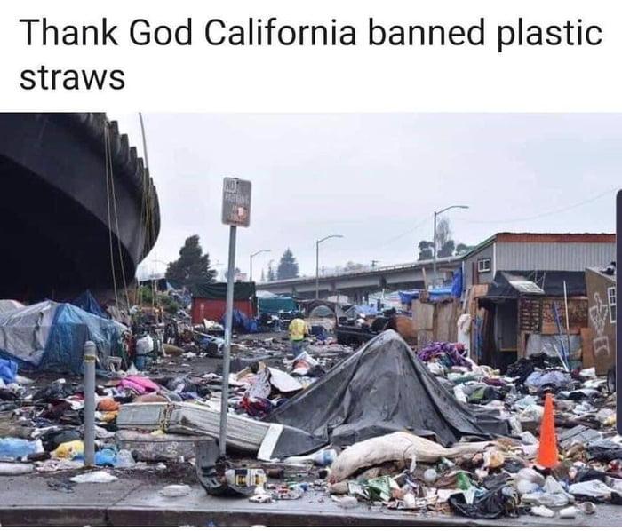 LA is a big dump now. Sad.