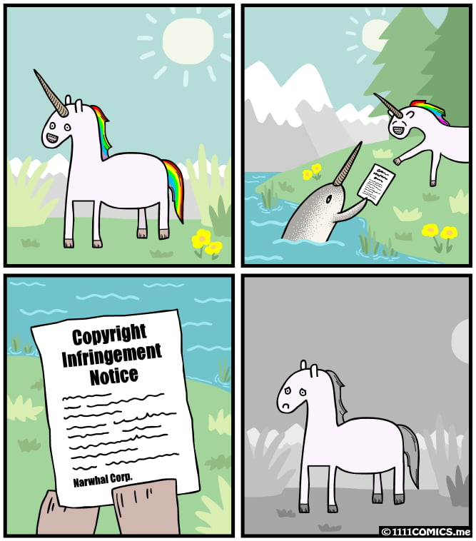 So that's why I've never seen a unicorn in real life