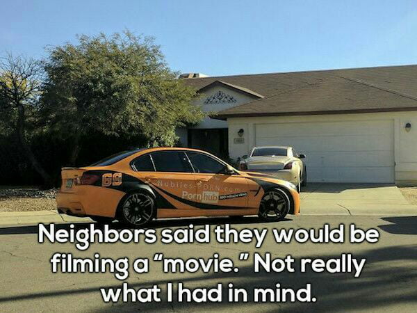 I wish I had this kind of neighbors