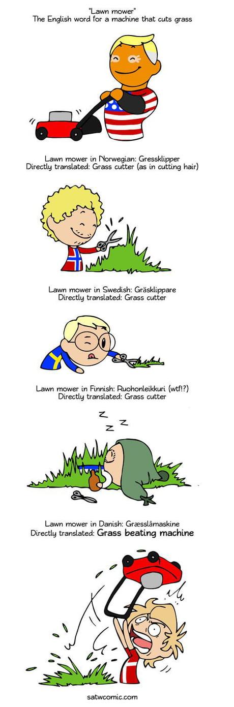 Grass beating machine (wtf?!)