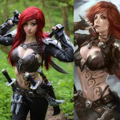 League Of Legends Katarina Cosplay 9gag