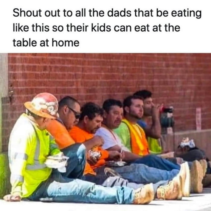 To all the dads showing up when it counts!