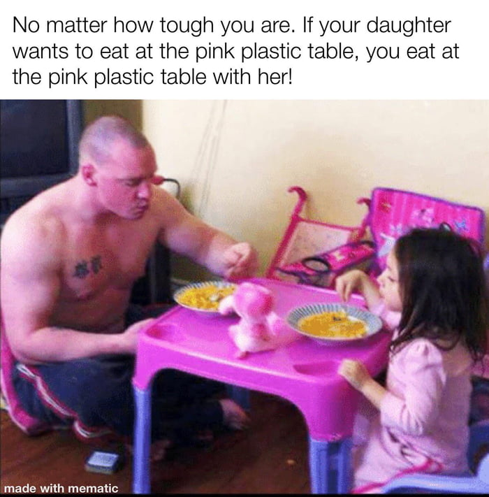 Fathers are wholesome