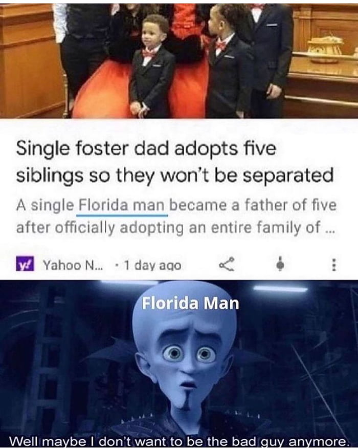Wholesome Florida Man