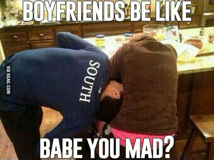 Boyfriends be like..
