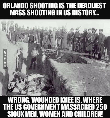 U think orlando shooting is the worst mass shooting in U.S. history?