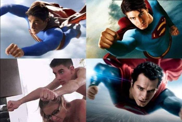 Superman cosplay