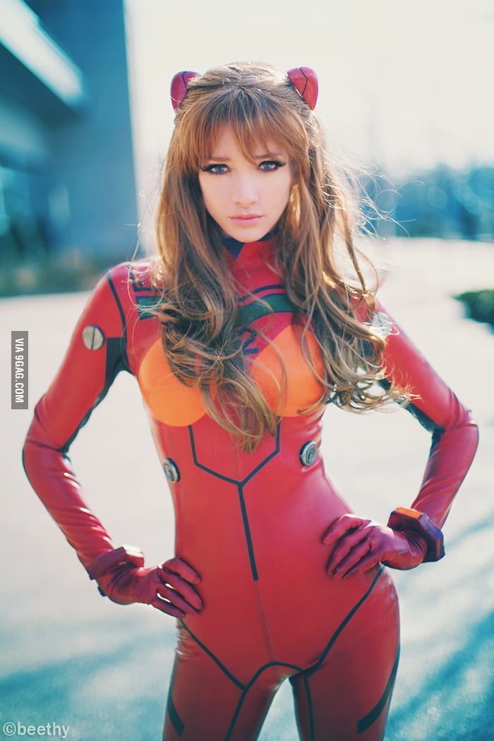Evangelion Asuka cosplay by beethy