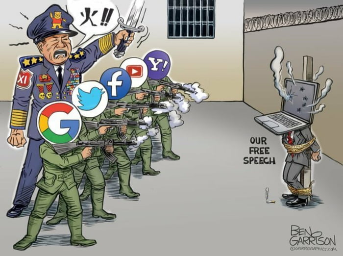 The creator of this cartoon got his account suspended