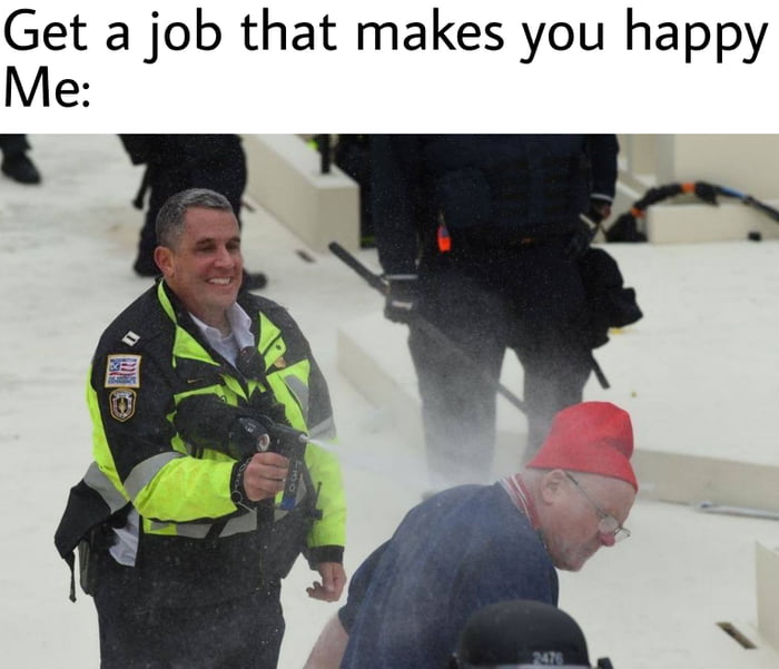 Get a job that makes you happy