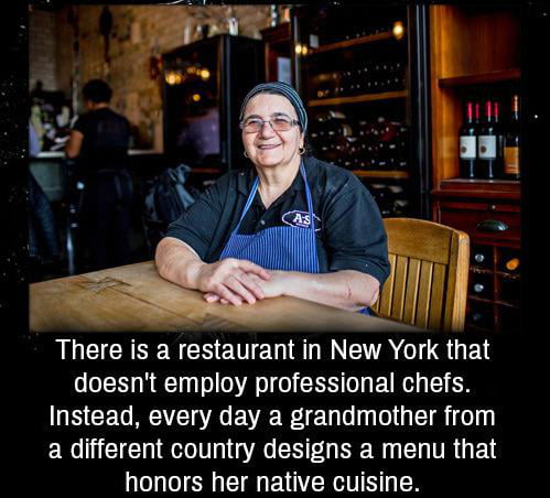 This restaurant in New York city doesn't employ professional chefs but instead..