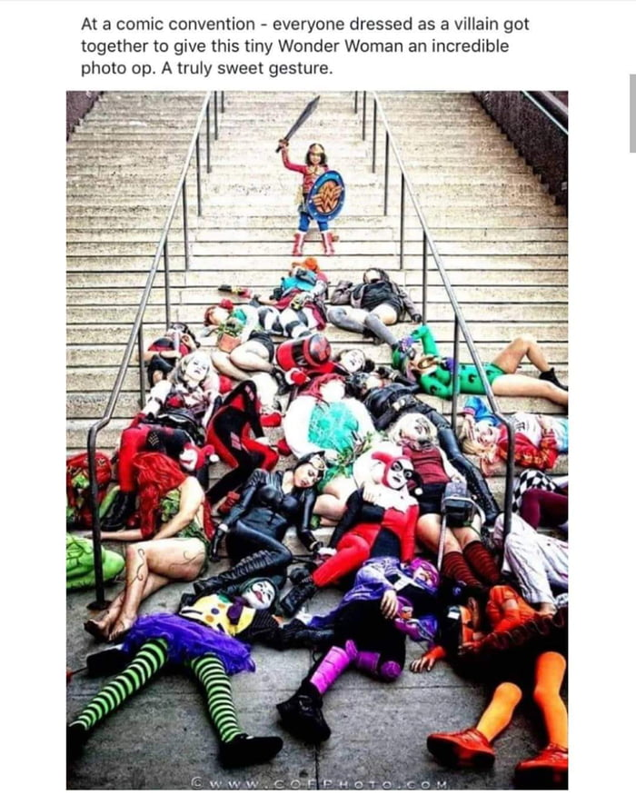 Actual superheroes