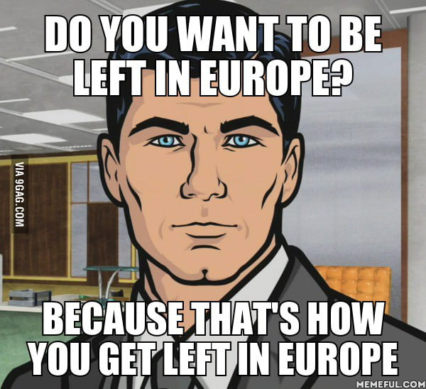 About the breakup during a European vacation...