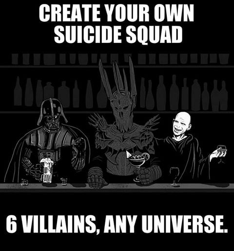Choose wisely ( only villains.. no anti-heroes )