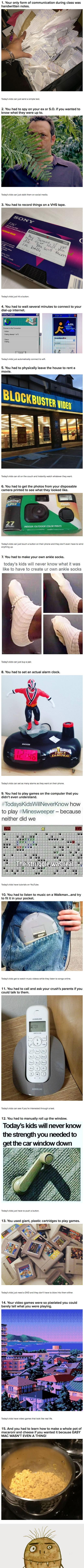 15 Photos From The '90s That Prove Kids Today Will Never Understand The Struggle
