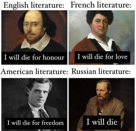 I will die ...