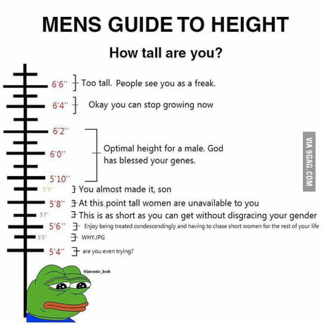 5 Foot 10 Inches Here 9gag