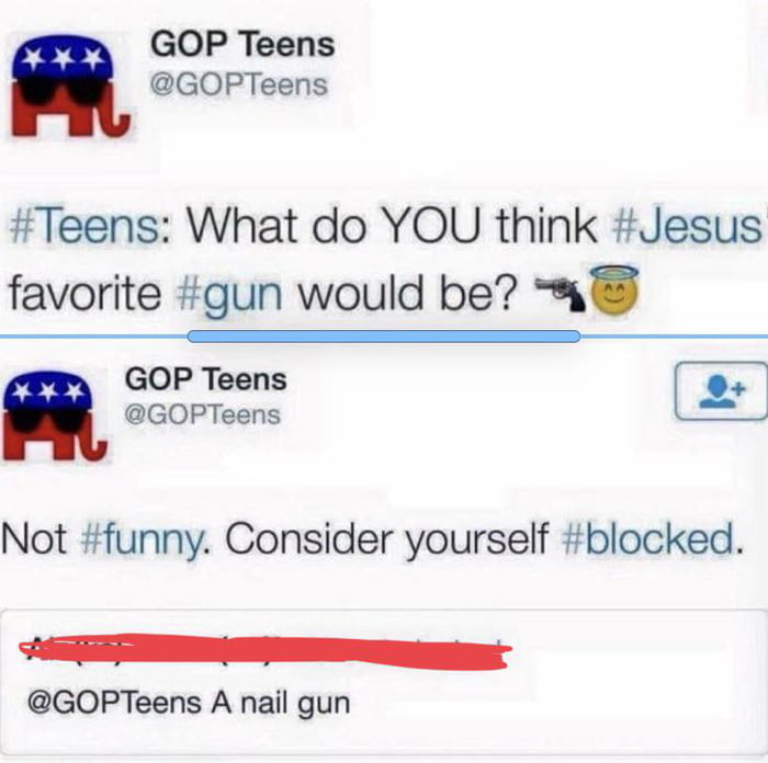 Which gun would Jesus prefer?