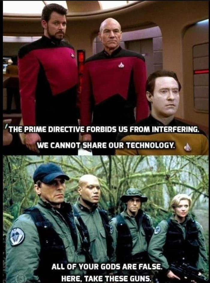 This is why SG-1 is the superior series.